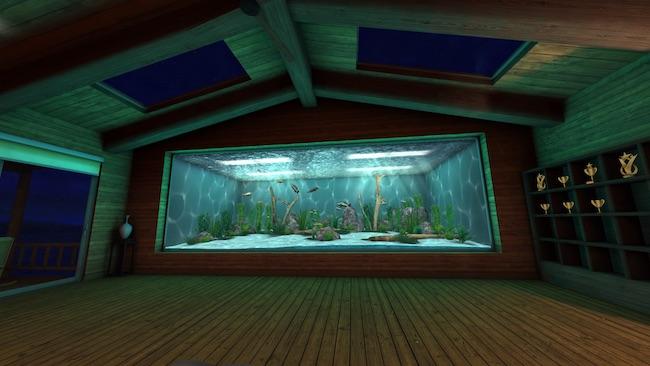 Real VR Fishing アクアリウム