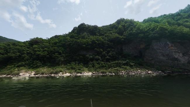 Real VR Fishing 景色